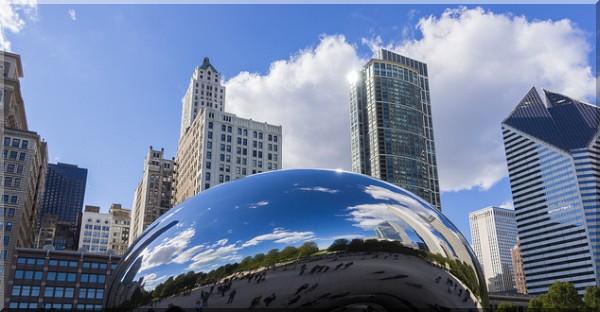 Chicago IL, millenium park