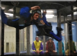 indoor skydiving at Seattle